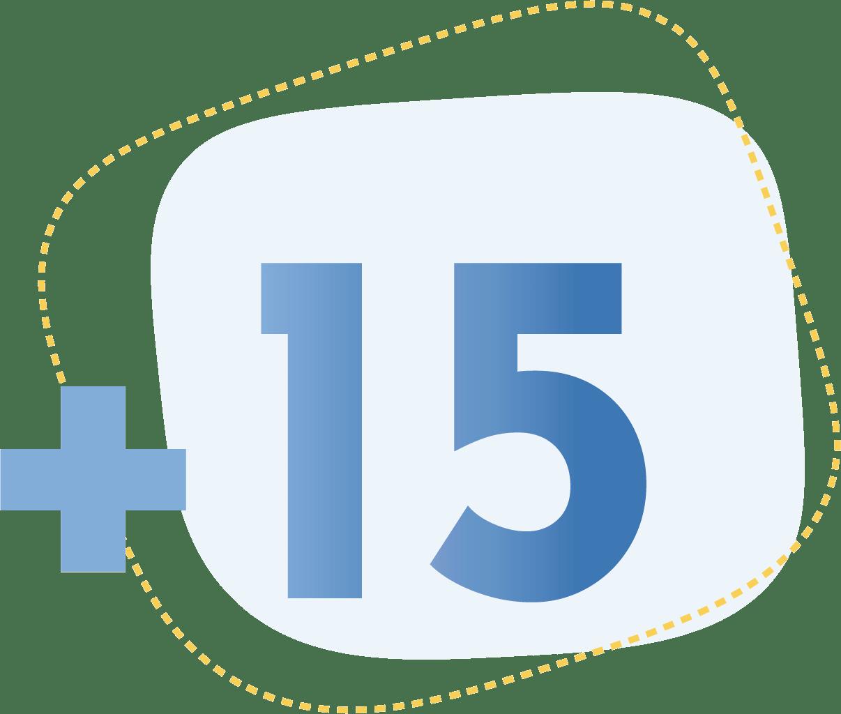 icone +15
