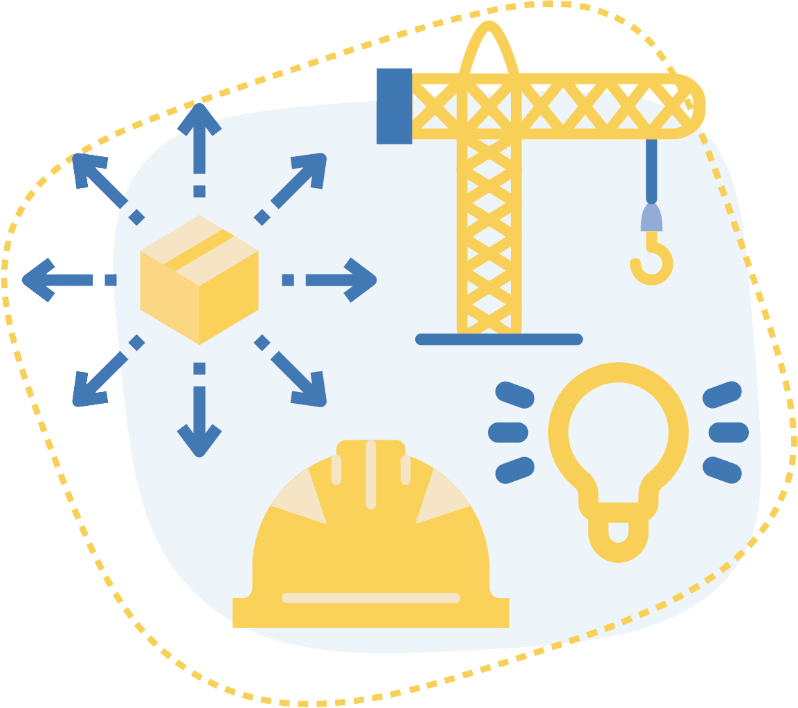 icône métiers construction