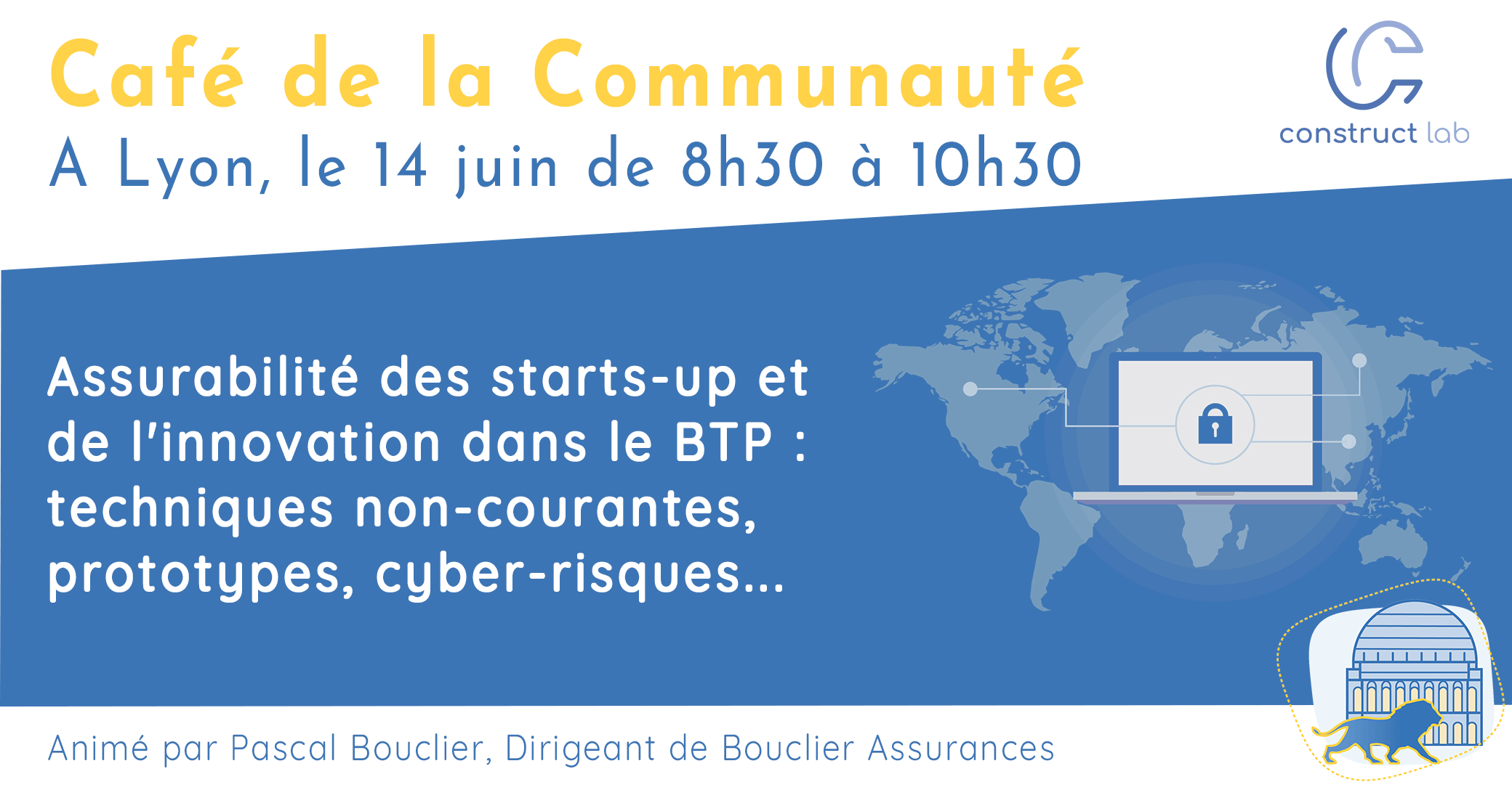 Visuel Café de la Communauté Lyon 14/06/19