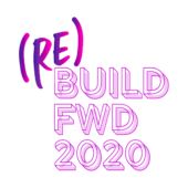 Build Forward 2020 Logo Fond
